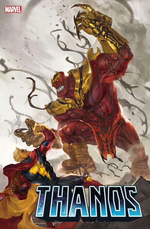 Thanos #4 (Sunghan Yune Carnage-ized Cover)