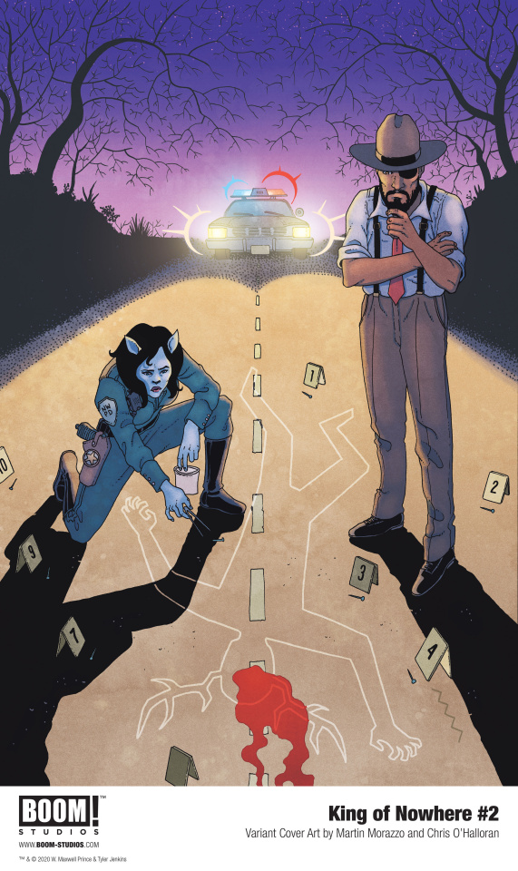 King of Nowhere #2 (Morazzo Cover)