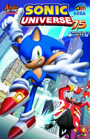 Sonic Universe #75 (EGA Studio Cover)