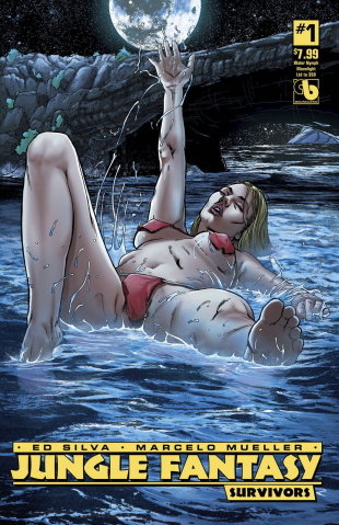 Jungle Fantasy: Survivors #1 (Water Nymph Moonlight Cover)