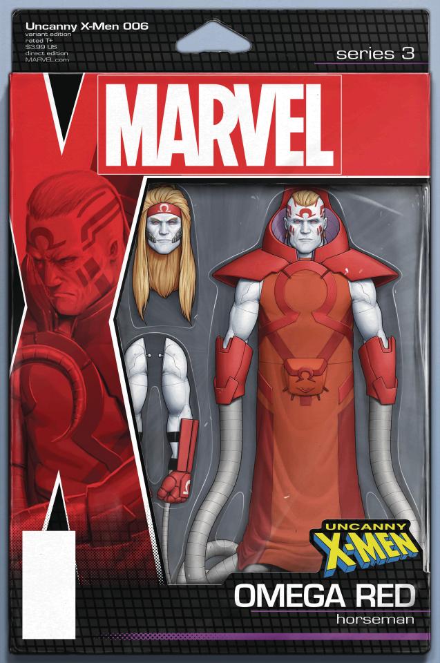 Uncanny X-Men #6 (Christopher Action Figure Cover)