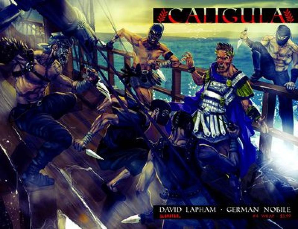 Caligula #4 (Wrap Cover)