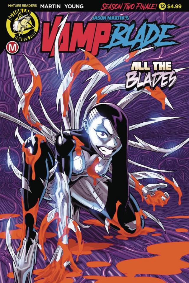 Vampblade, Season Two #12 (Winston Young Cover)