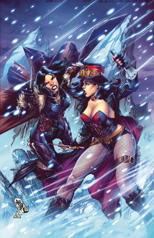 Grimm Fairy Tales: Van Helsing vs. The Werewolf #2 (Lilly Cover)