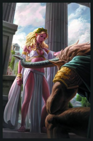 Grimm Fairy Tales: Myths & Legends #17 (Capprotti Cover)