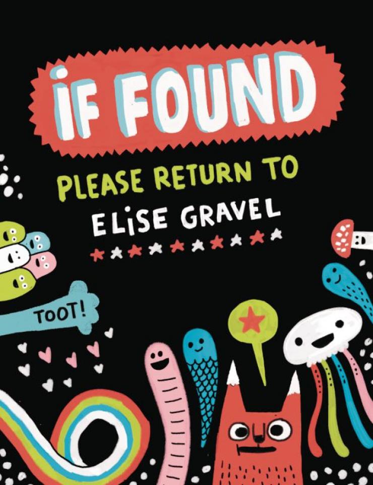 If Found Please Return to Elise Gravel