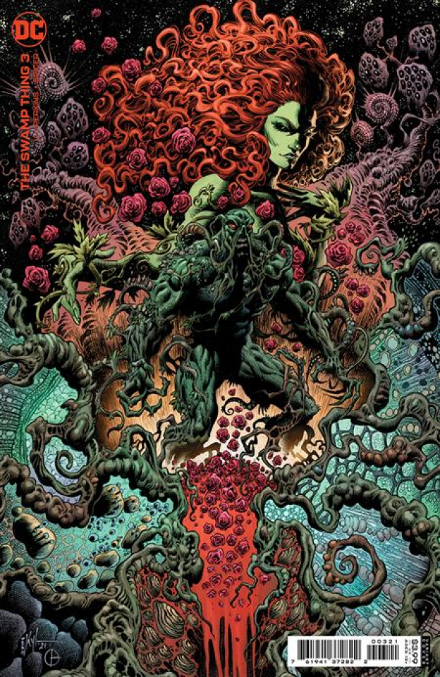 Swamp Thing #3 (Kyle Hotz Card Stock Cover)