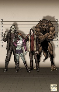 Grimm Fairy Tales: Escape From Monster Island #1 (Reyes Cover)