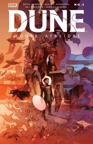 Dune: House Atreides #5 (Tocchini Cover)