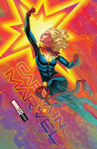 Captain Marvel #23 (Dauterman Cover)