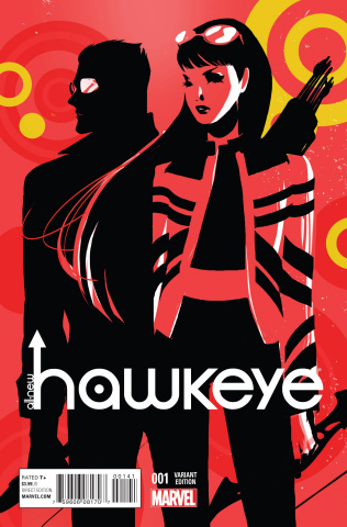 All-New Hawkeye #1 (Women of Marvel Murase Cover)