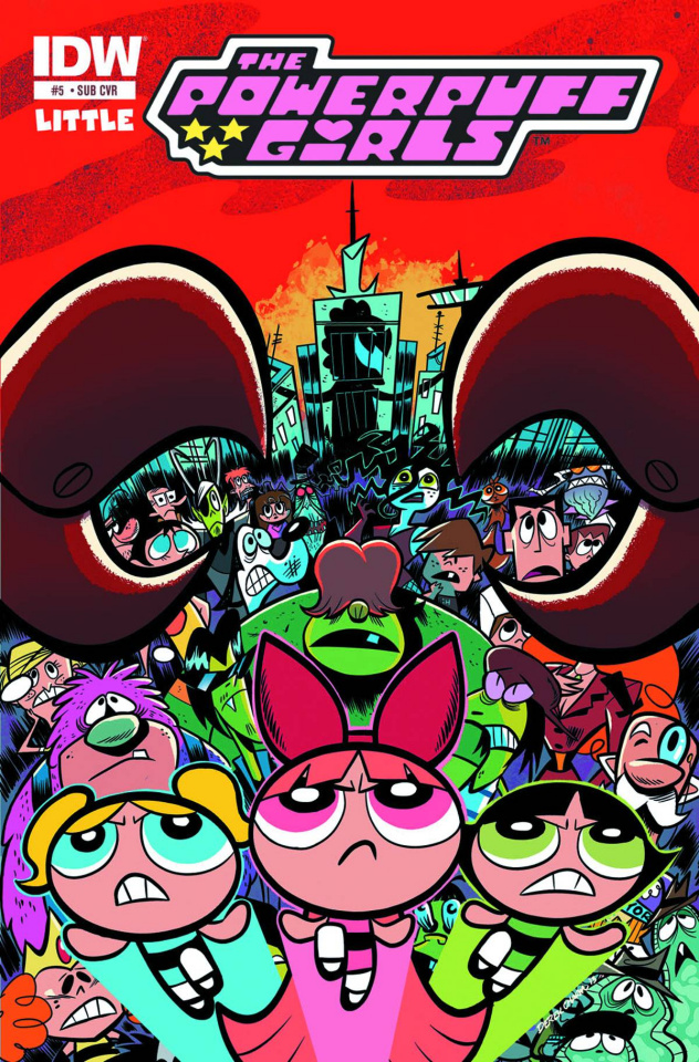 The Powerpuff Girls #5 (Subscription Cover)