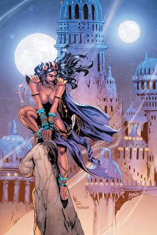 Dejah Thoris #9 (Lau Homage Virgin Cover)