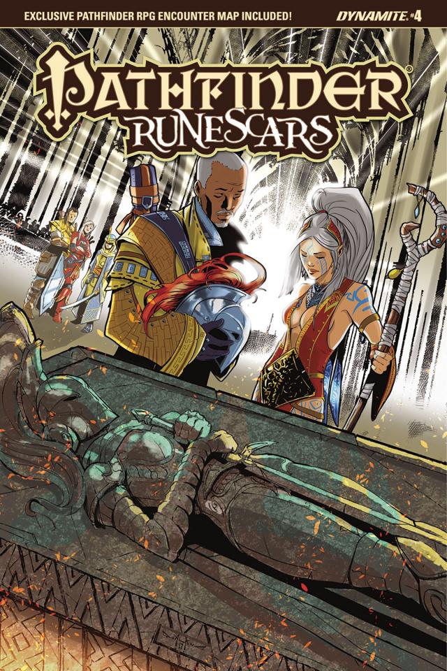 Pathfinder: Runescars #4 (Qualano Cover)