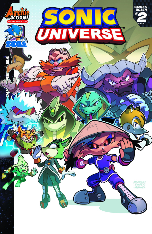 Sonic Universe #84 (Jamal Peppers Cover)