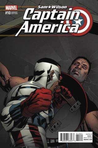 Captain America: Sam Wilson #10 (Reenactment Cover)