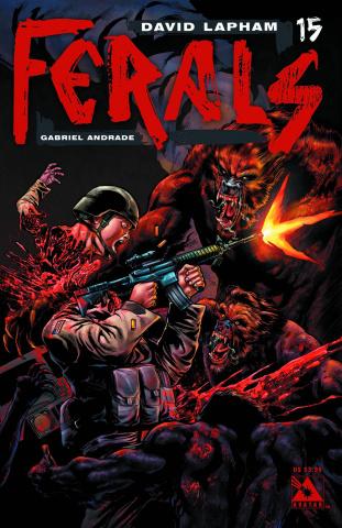 Ferals #15 (Gore Cover)