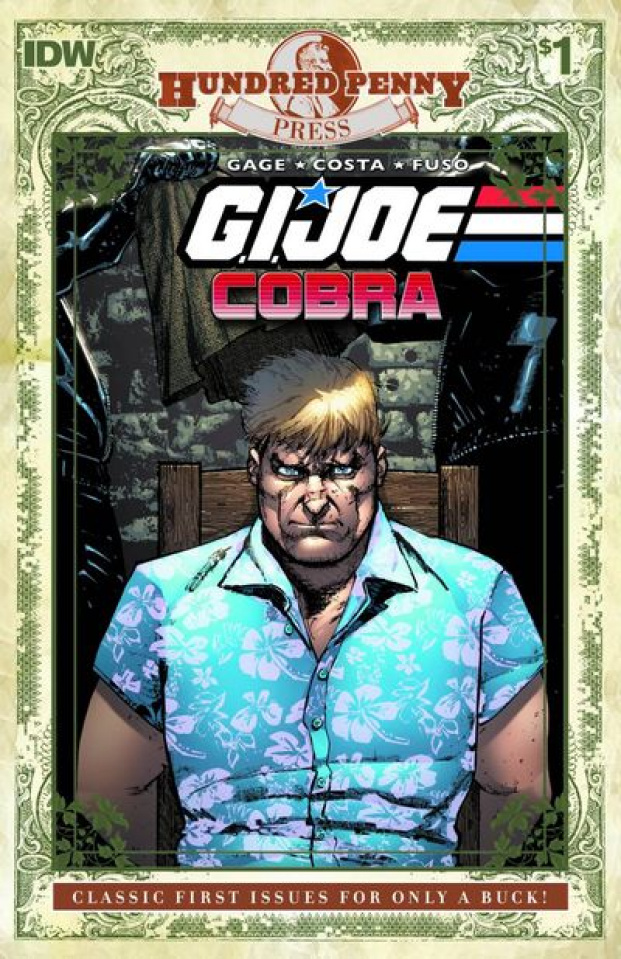 G.I. Joe: Cobra #1: 100 Penny Press Edition