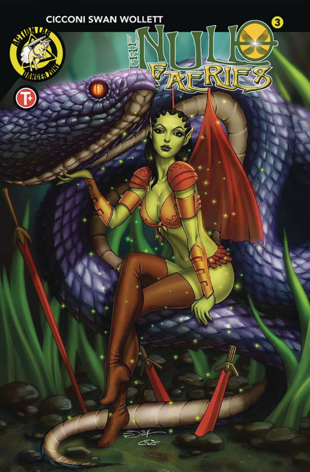 The Null Faeries #3 (Suhng Cover)