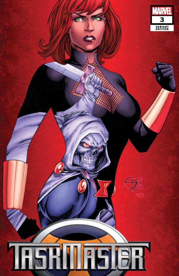 Taskmaster #3 (Davis Cover)