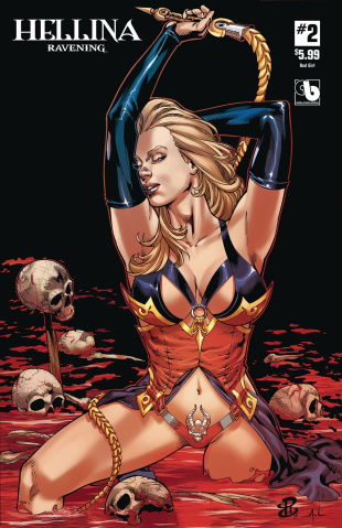 Hellina: Ravening #2 (Bad Girl Cover)