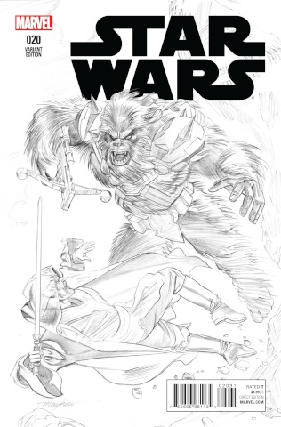 Star Wars #20 (Mayhew Sketch Cover)