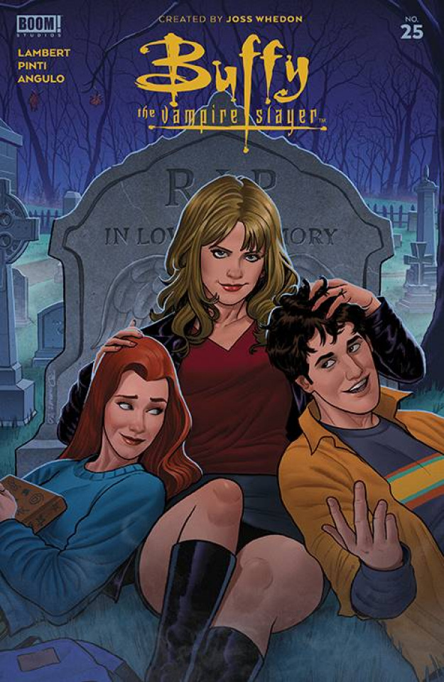 Buffy the Vampire Slayer #25 (Quinones Cover)