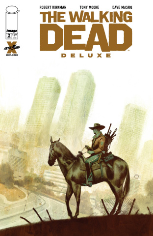 The Walking Dead Deluxe #2 (Tedesco Cover)
