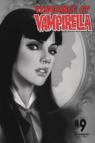 Vengeance of Vampirella #9 (30 Copy Oliver B&W Cover)