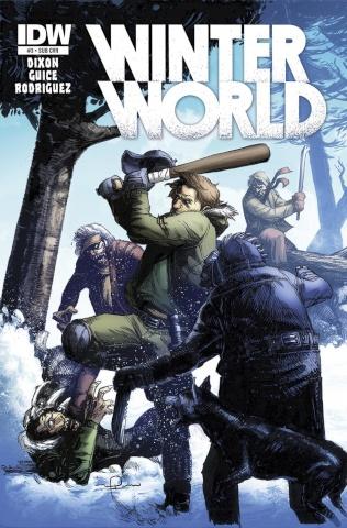 Winterworld #3 (Subscription Cover)