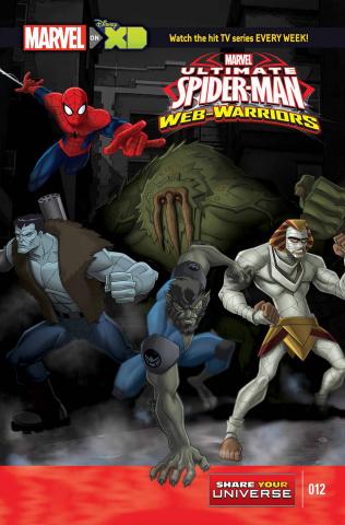 Marvel Universe: Ultimate Spider-Man - Web Warriors #12