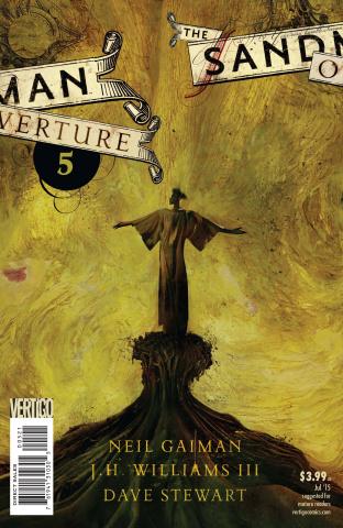 The Sandman: Overture #5 (Cover B)