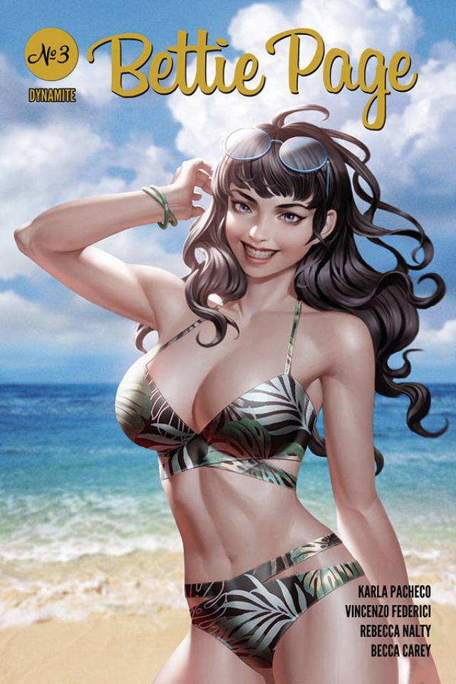 Bettie Page #3 (Yoon Cover)