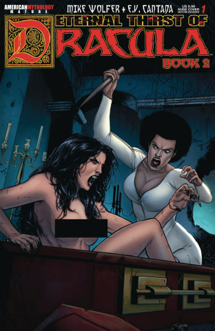 Eternal Thrist of Dracula 2 #1 (Brides Nude Cover)
