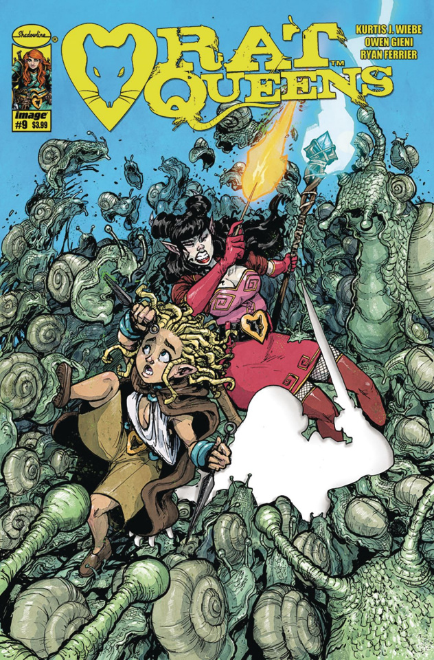 Rat Queens #9 (Gieni Cover)
