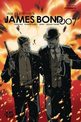 James Bond: 007 #12 (Johnson Cover)
