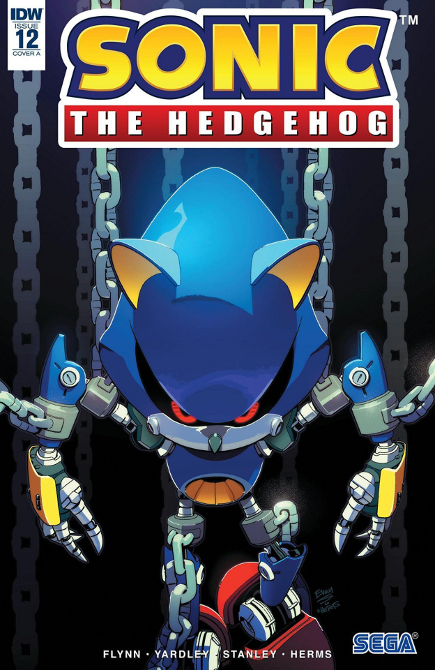 Sonic the Hedgehog #12 (Stanley Cover)