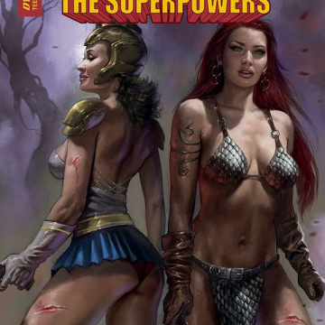Red Sonja: The Superpowers #5 (Parrillo Cover)