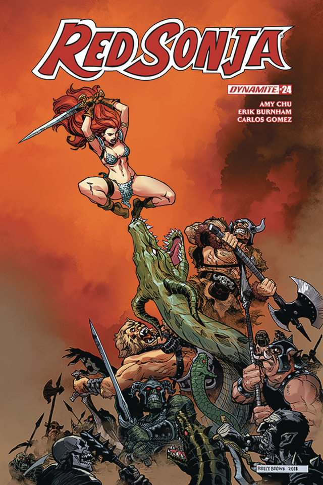 Red Sonja #24 (Reilly Cover)