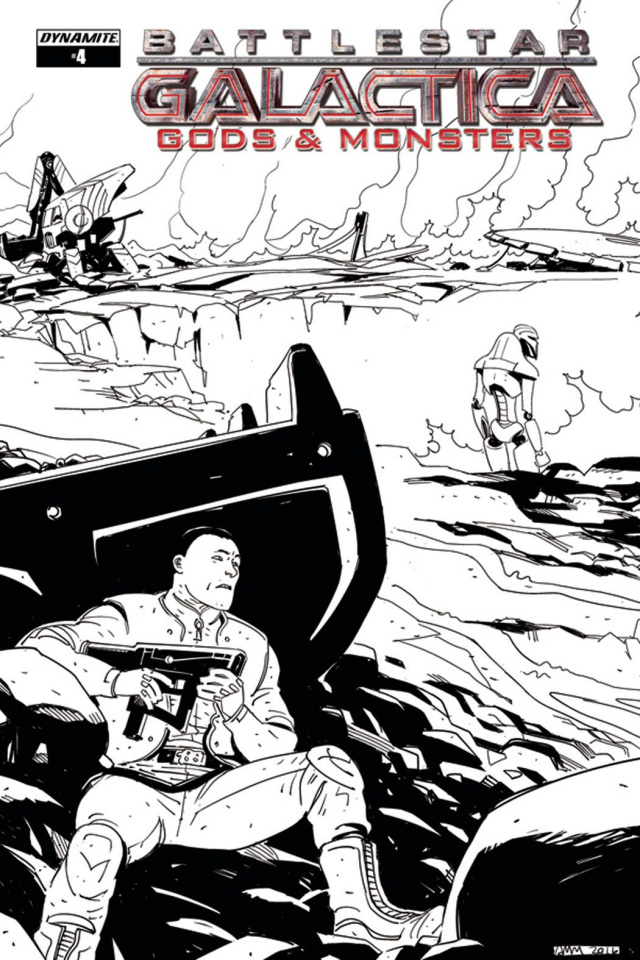 Battlestar Galactica: Gods & Monsters #4 (10 Copy Cover)