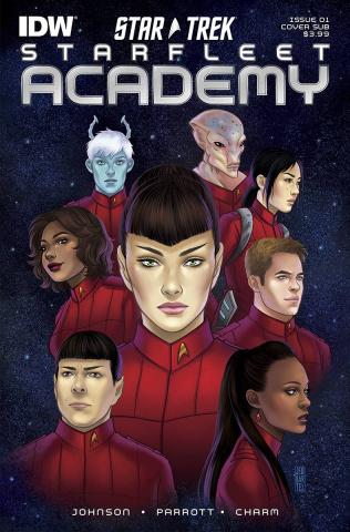 Star Trek: Starfleet Academy #1 (Subscription Cover)