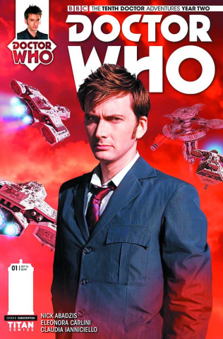 Doctor Who: New Adventures with the Tenth Doctor, Year Two #1 (Subscription Photo Cover)