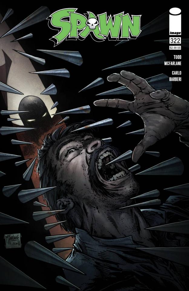 Spawn #322 (McFarlane Cover)