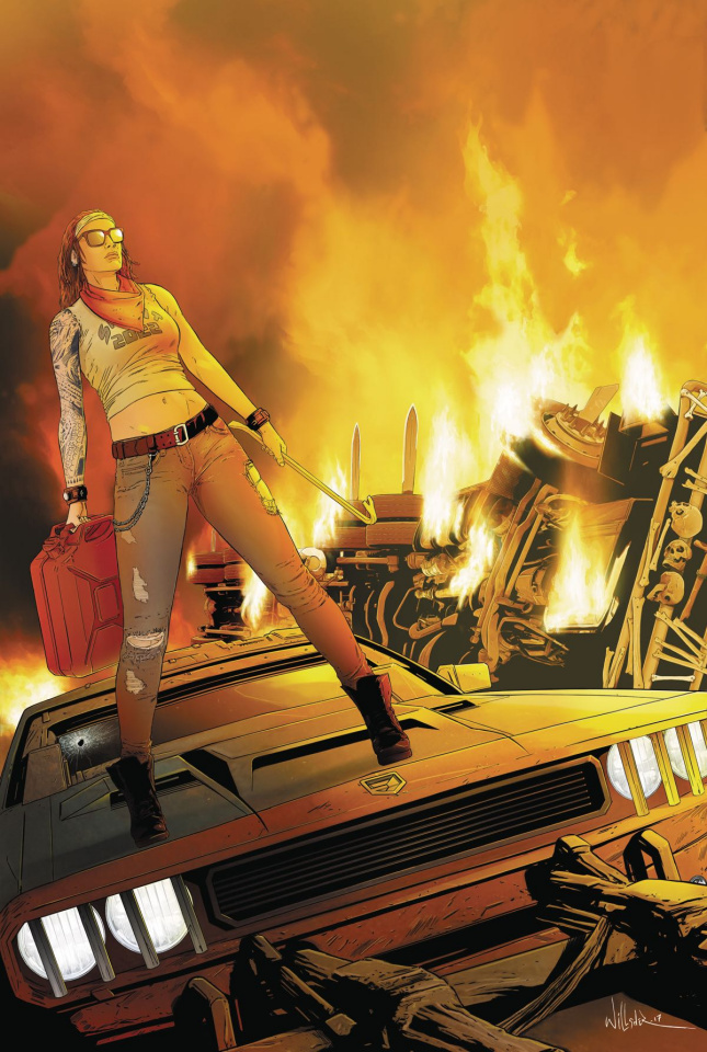 Freeway Fighter #3 (Willsher Cover)