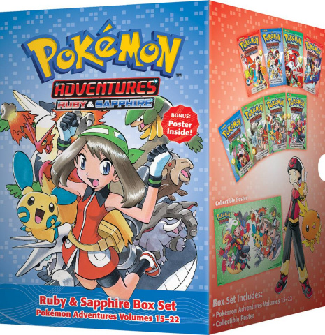 Pokémon Adventures Vol. 3: Ruby & Sapphire Box Set