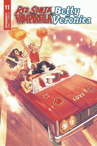 Red Sonja and Vampirella Meet Betty and Veronica #11 (Dalton Cover)