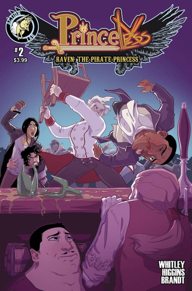 Princeless: Raven, The Pirate Princess #2