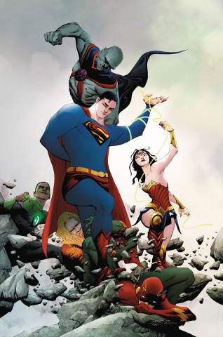 Justice League #21 (Variant Cover)