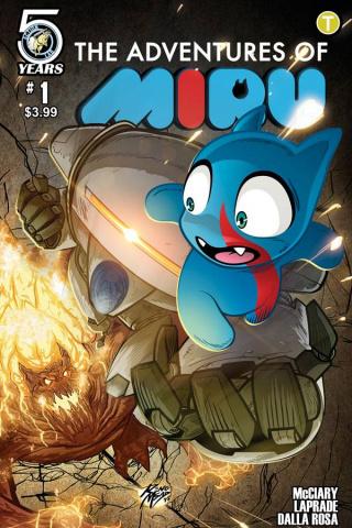 The Adventures of Miru #1 (Msad Cover)