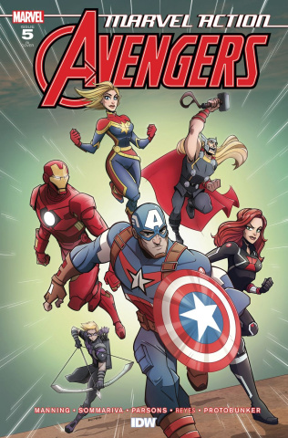 Marvel Action: Avengers #5 (10 Copy Martin Cover)